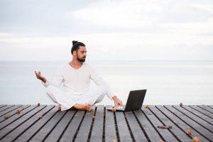 thérapeute rédaction blog yoga zen